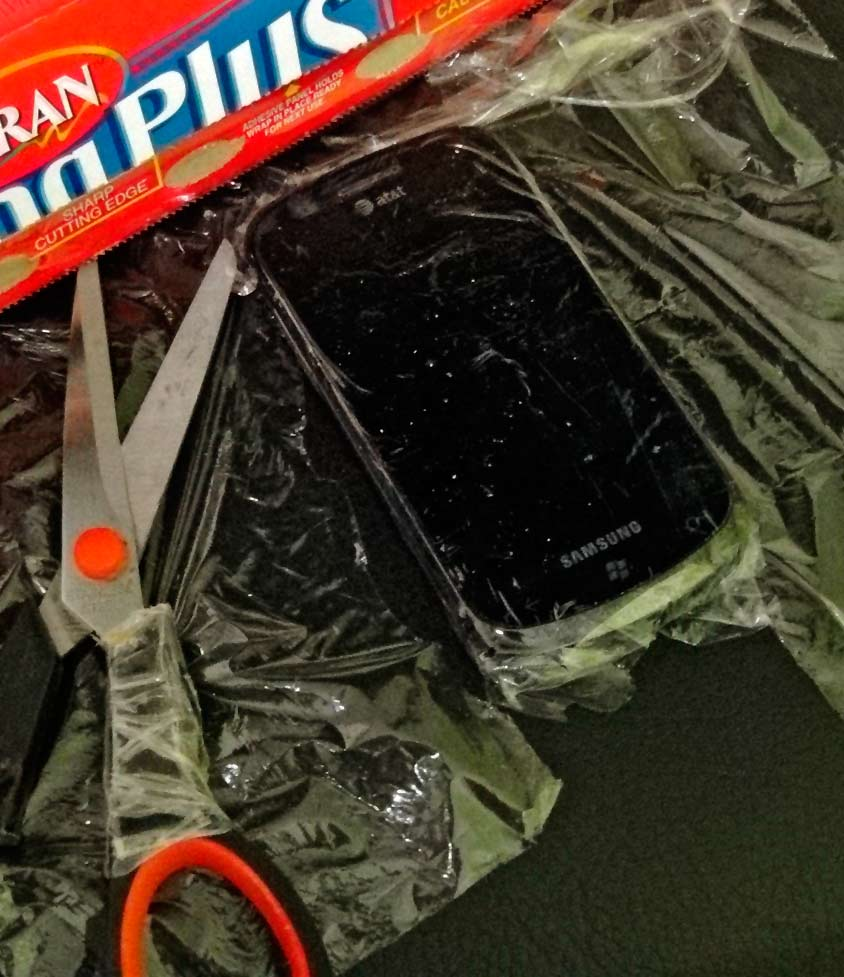 Plastic Wrap Screen Protector